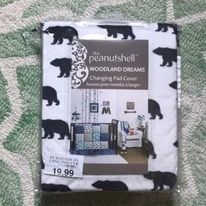 Woodland changing pad cover